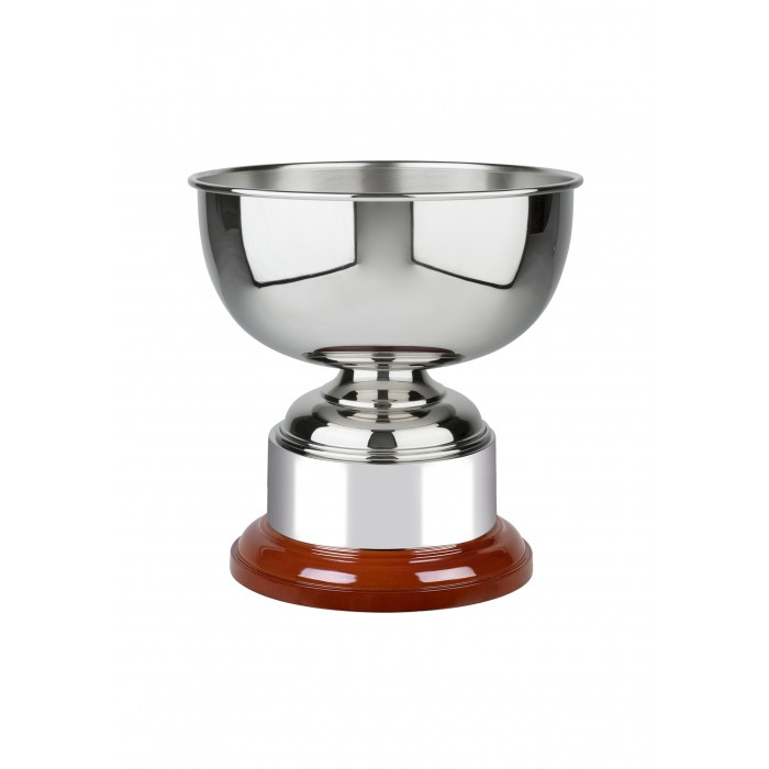 NICKEL PLATED TRADITIONAL TROPHY CUP - 4 SIZES